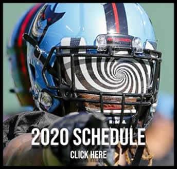 XFL 2020 Schedule