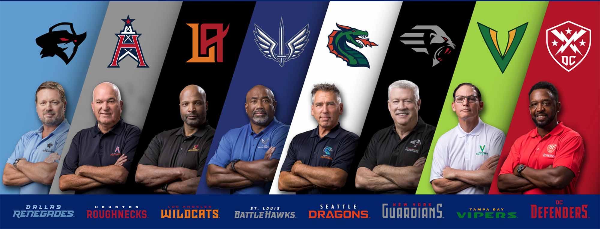 XFL Coaches